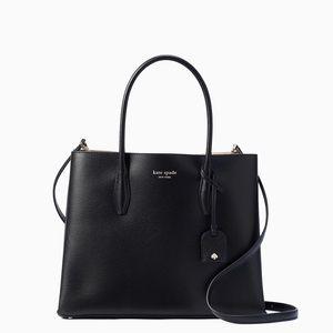 💃Kate Spade Eva Leather Medium Satchel